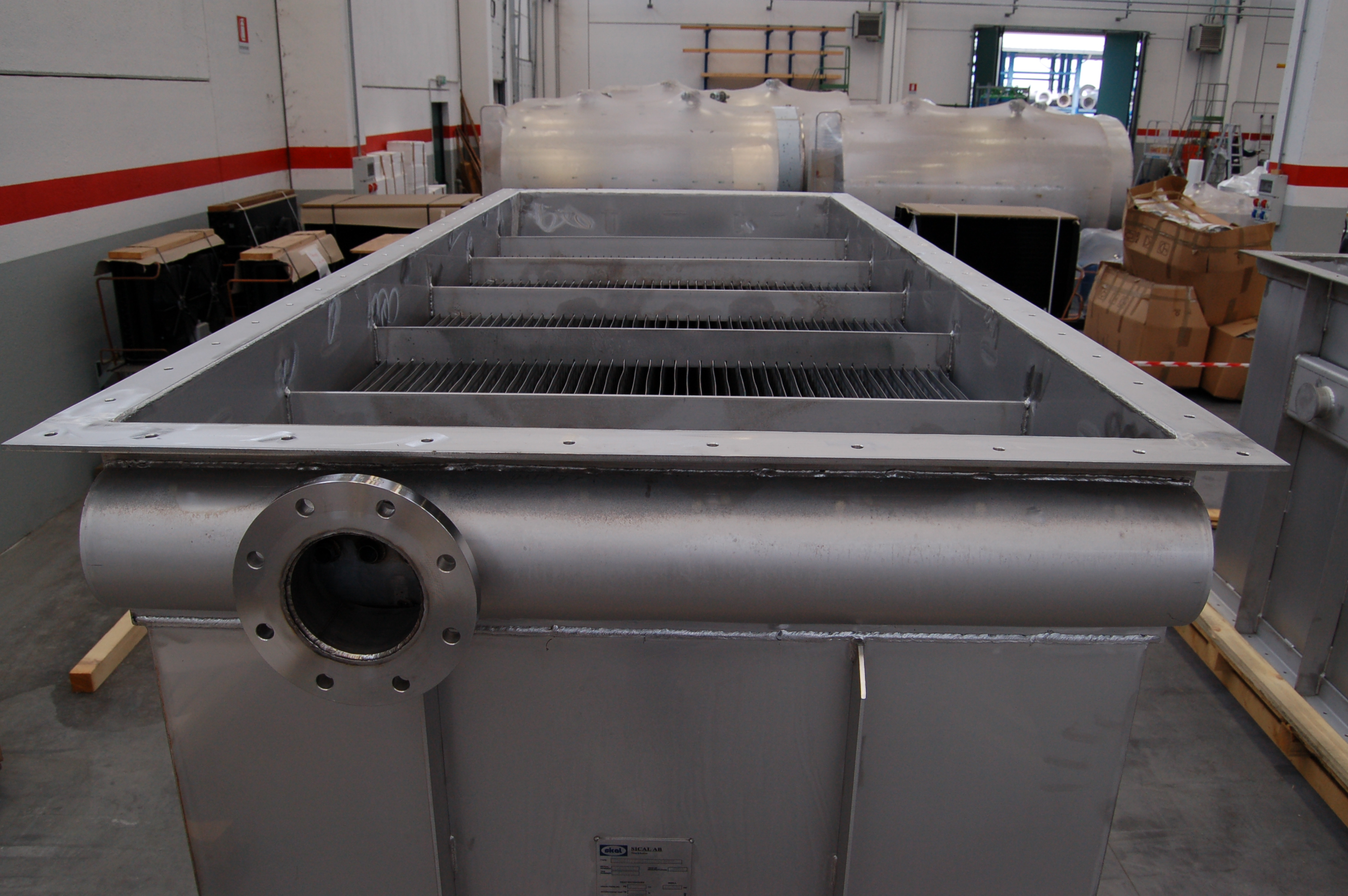 air and water heat-exchanger
